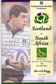 Scotland v South Africa 1994 rugby  Programmes