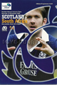 Scotland v South Africa 2002 rugby  Programme