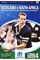 Scotland v South Africa 2004 rugby  Programme