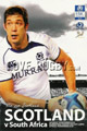 Scotland v South Africa 2010 rugby  Programmes
