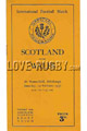 Scotland v Wales 1936 rugby  Programmes