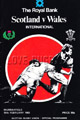 Scotland v Wales 1983 rugby  Programme