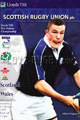 Scotland v Wales 1999 rugby  Programme