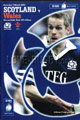 Scotland v Wales 2003 rugby  Programmes
