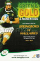 South Africa v Australia 2010 rugby  Programmes
