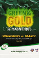 South Africa v France 2010 rugby  Programmes