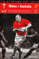 Wales v Australia 2001 rugby  Programme