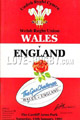 Wales v England 1991 rugby  Programmes