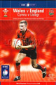 Wales v England 2003 rugby  Programmes