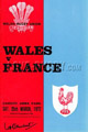 Wales - France rugby  Statistics