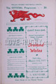 Wales v Ireland 1911 rugby  Programmes