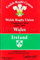 Wales v Ireland 1981 rugby  Programmes
