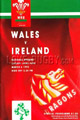 Wales v Ireland 1993 rugby  Programmes