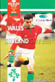 Wales v Ireland 1995 rugby  Programme