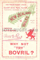 Wales - New Zealand-1935