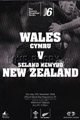 Wales v New Zealand 2006 rugby  Programme
