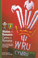 Wales v Romania 2002 rugby  Programmes
