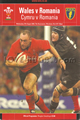 Wales v Romania 2003 rugby  Programmes