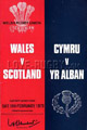 Wales v Scotland 1978 rugby  Programmes