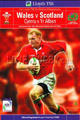 Wales v Scotland 2002 rugby  Programmes