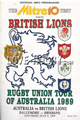 British & Irish Lions Australia Tour 1989