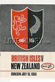 British & Irish Lions Australia New Zealand Tour 1966