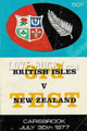 British & Irish Lions New Zealand Tour 1977